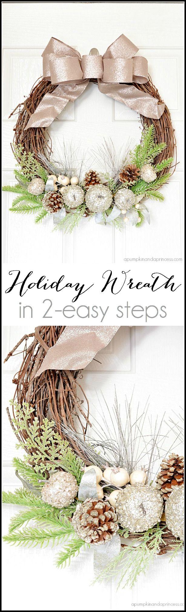 Photo of Glitter Holiday Wreath