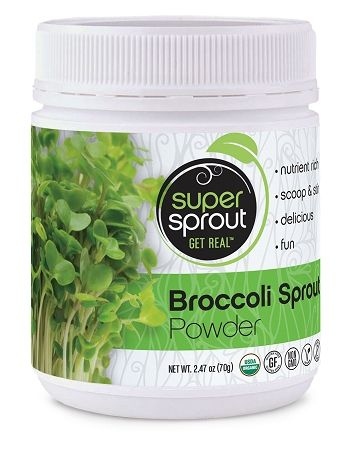 Super Sprout Broccoli Sprout Powder 5 29 Oz 150g 45 00 Broccoli Sprouts Broccoli Sprouts