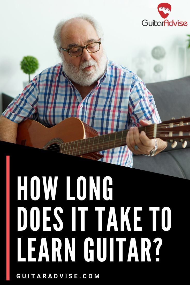 How long does it take to learn guitar playing guitar