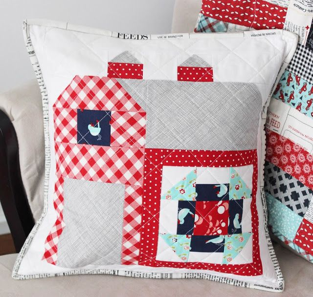Farmgirl Vintage Quilted Pillow Cover + Tutorial & Farmgirl Vintage Quilted Pillow Cover + Tutorial | Quilted pillow ... pillowsntoast.com