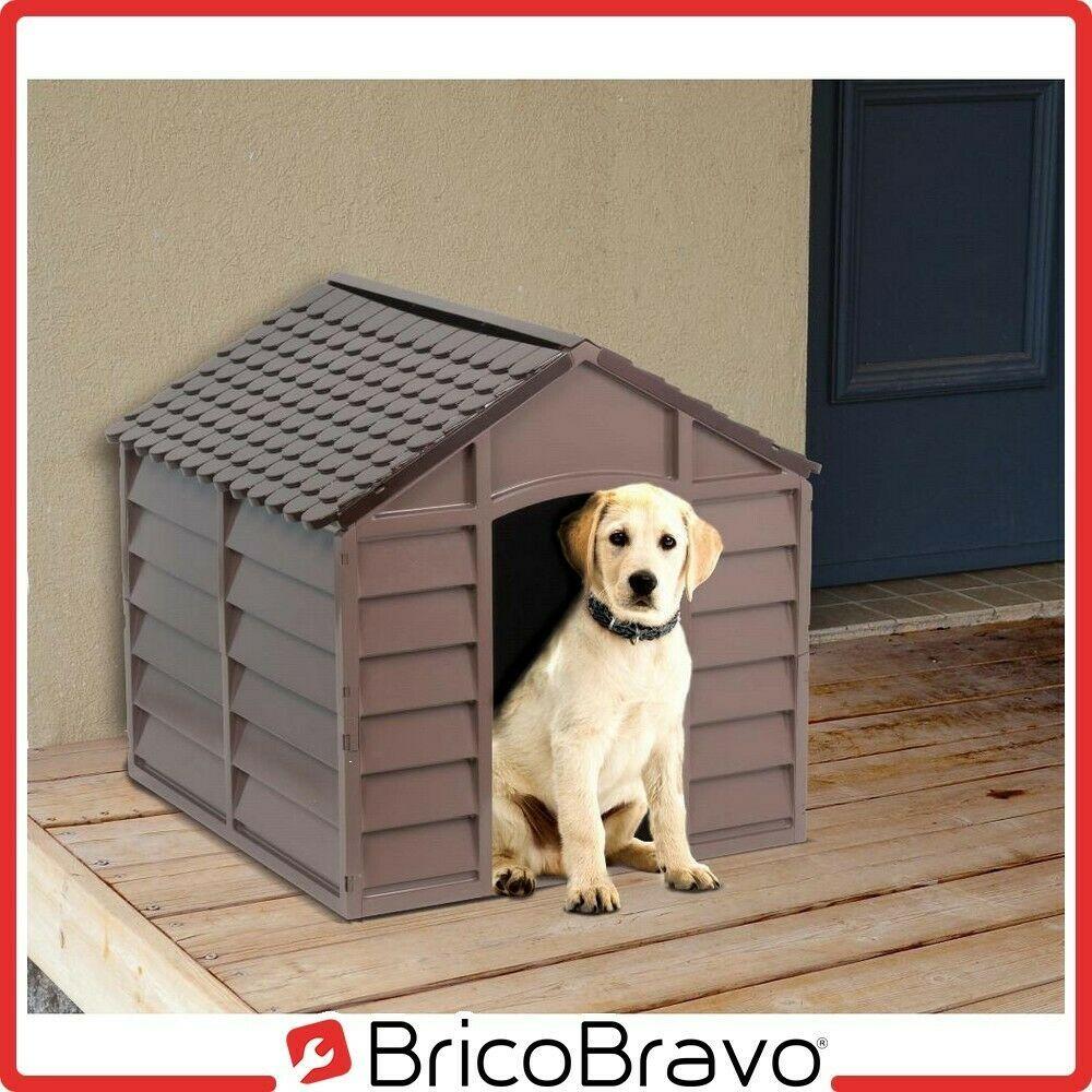 Cuccia casetta per cani taglia media in pvc impermeabile esterno da giardino