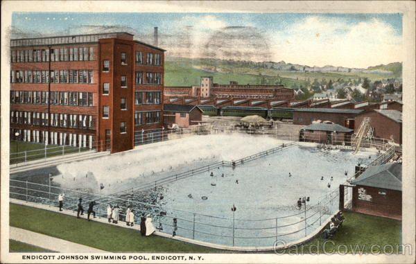 Endicott johnson swimming pool in 2019 historic - Johnson swimming pool roseville ca ...