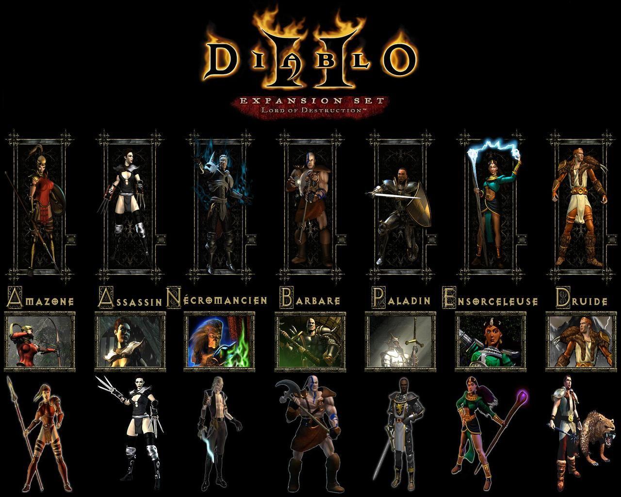 Diablo Ii Lord Of Destruction Wallpapers Diablo Hd Wallpaper