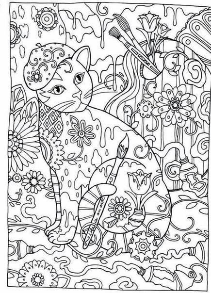 Coloring Book Pages To
