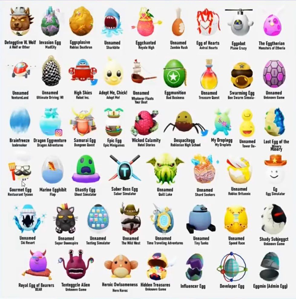 29 Likes 3 Comments Creativeboyisgood On Instagram Yep These Are The Eggs For The Robloxegghunt2020 Roblox Egg Hunt Instagram Reading eggs lesson 111
