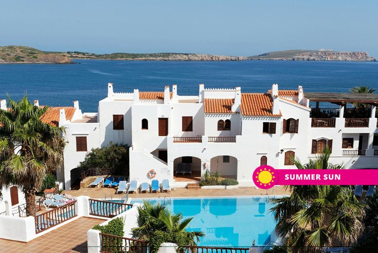 From £99pp (from Weekender Breaks) for a three-night self-catered Menorca self-catered sea view apartment stay with return flights, from £129pp for four nights, from £139pp for five nights, or from £169pp for seven nights - save up to 22%