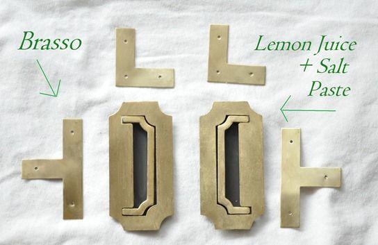 Nice Brass Hardware: Polishing And Faking It   Hardware, DIY Furniture And House