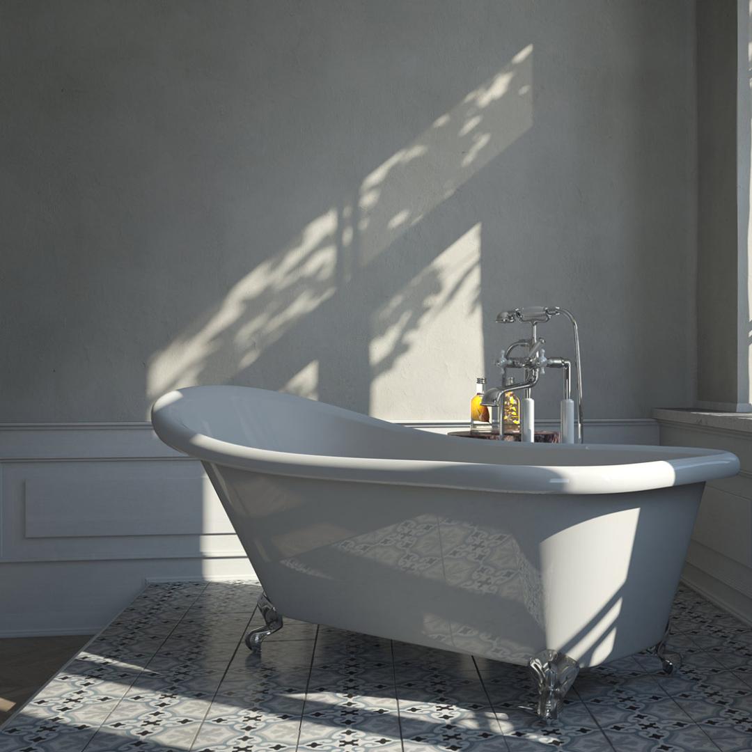 Freistehende Badewanne Mit Fussen Retro Antik Bad Badezimmer Ideen Bad Wanne Armaturen Freistehende Badewanne Badewanne Badezimmer