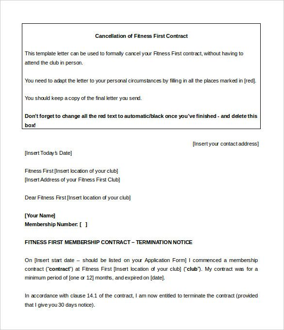 gym contract template free word pdf documents download Home - gym contract template