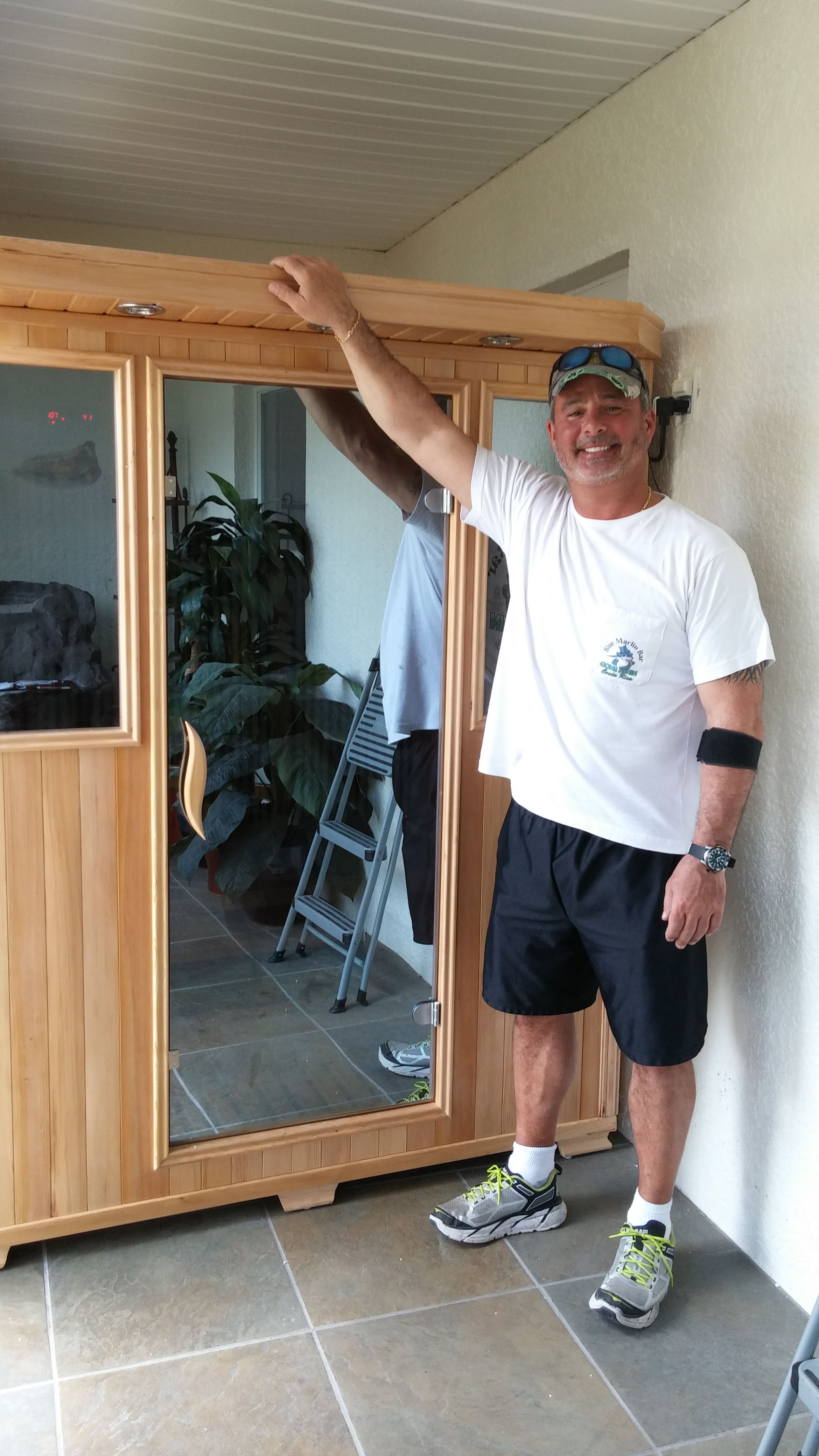 Good health saunas gs 3person infrared sauna hemlock wood