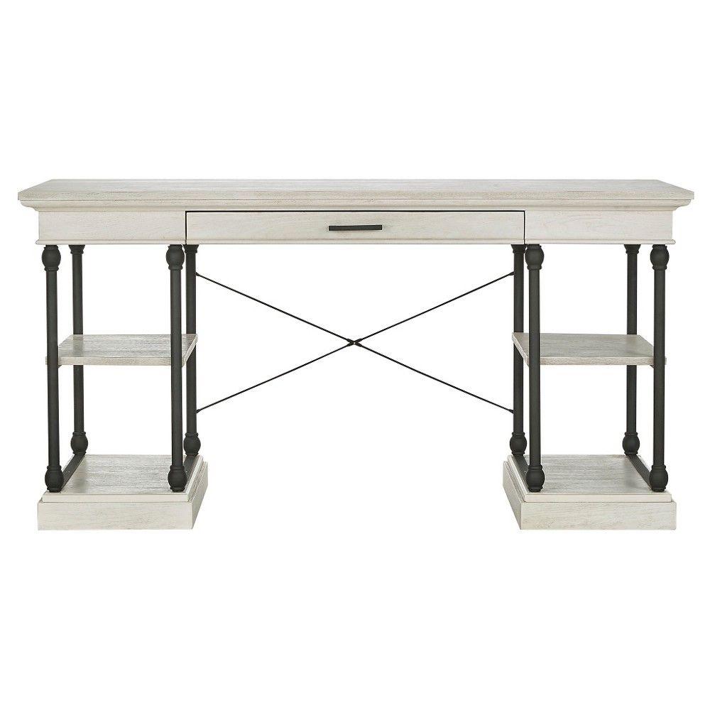 Belvidere Writing Desk White - Inspire Q