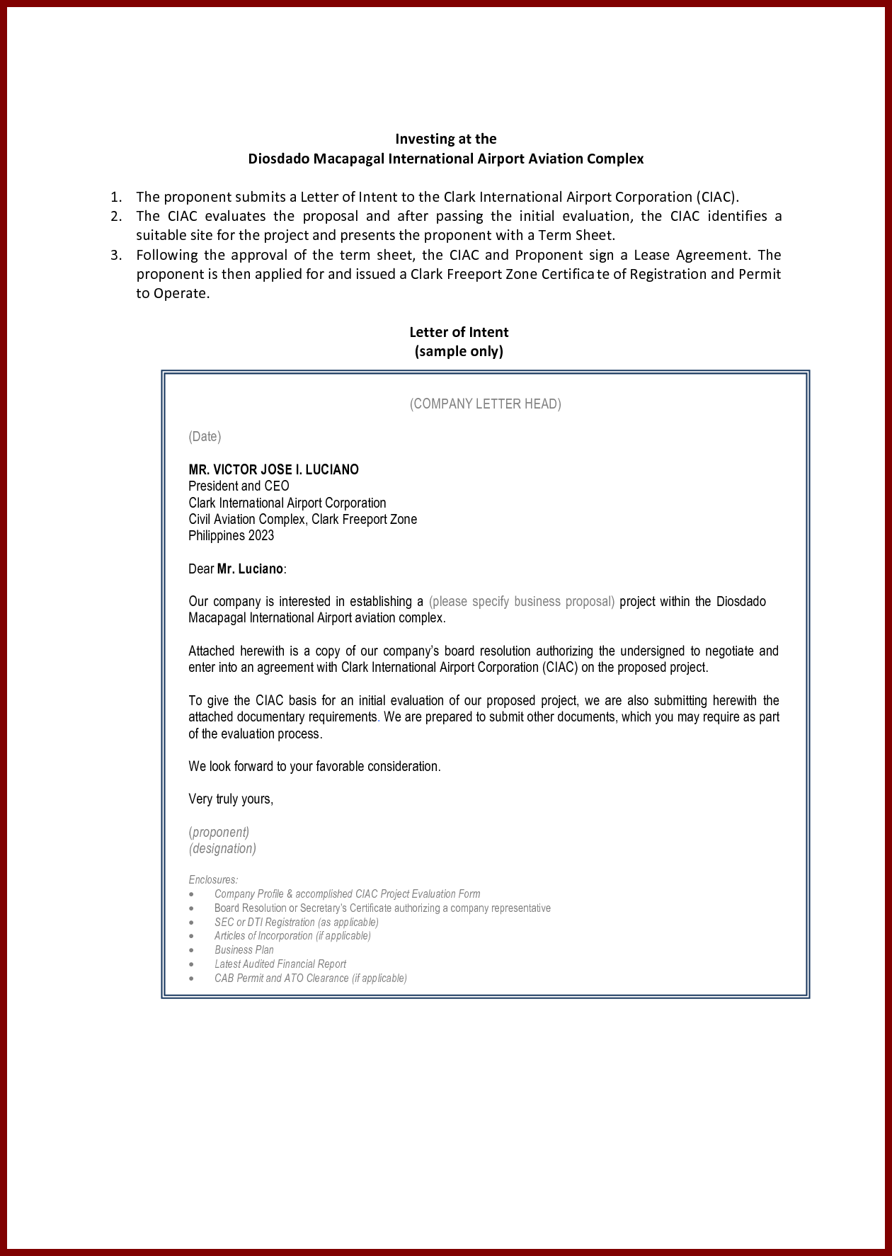 canteen proposal letter sample sendlettersfo business for
