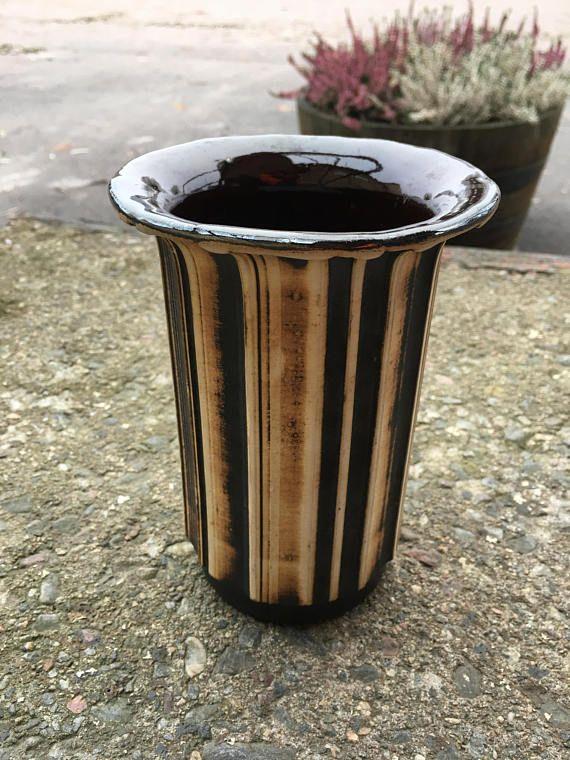 Vintage Swedish Vase By Gabriel Keramik Home Decor Pottery