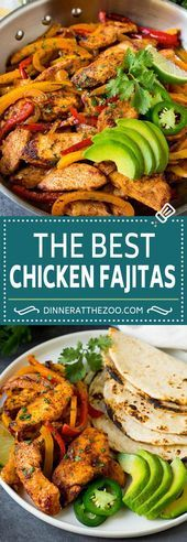 Best Chicken Fajitas Recipe