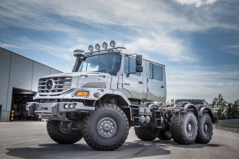 Mercedes zetros dual cab xrs 7200 pinterest for Mercedes benz zetros 6x6 expedition vehicle