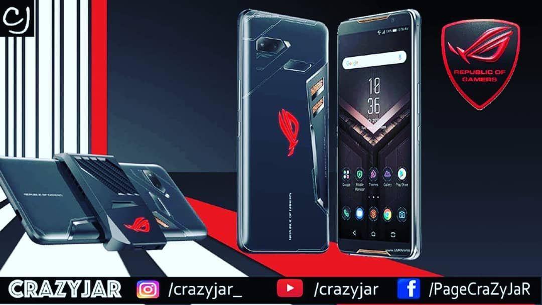 Asus Rog Gaming Smartphone Asus Gaming Brand Republic Of Gamers