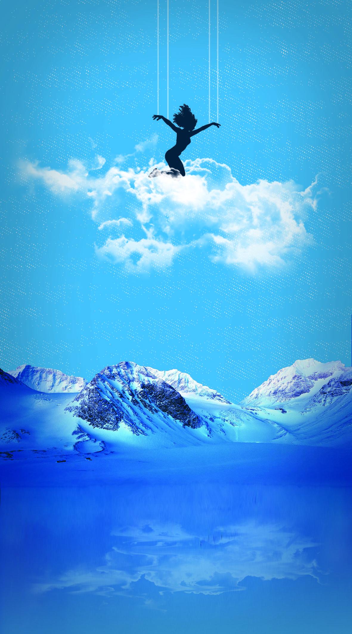 Ozge's blue #desing #blue #girl #freedom