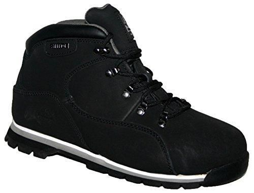 Groundwork Calzado de Protección Para Hombre, Color Negro, Talla 43,5