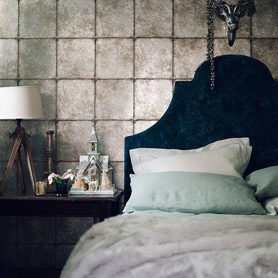 Morris Rugs Chrysanthemum China Blue | Metallic wallpaper, Bedrooms ...