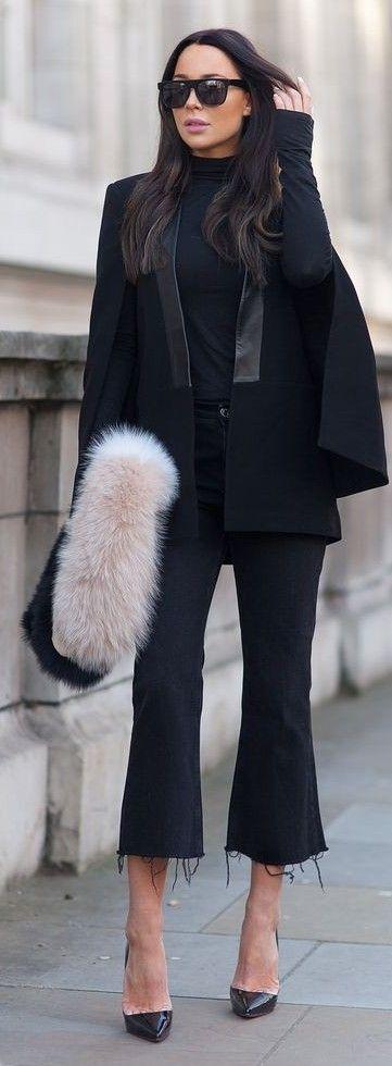 #streetstyle #fashion |Black And Creme | Johanna Olsson