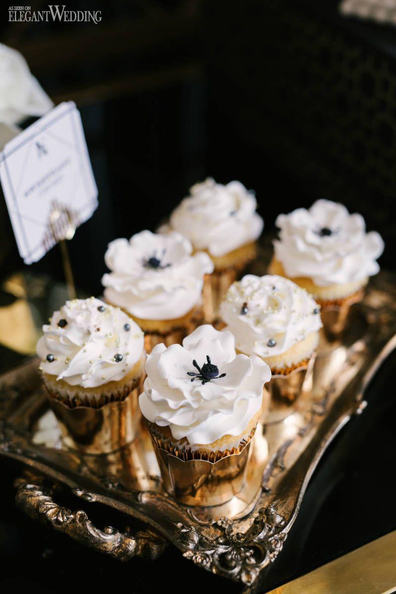 art deco cupcakes - Google Search  Art deco wedding cake