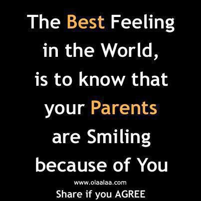 Love Sayings About Parents In Quotes And Tagged Best Feeling