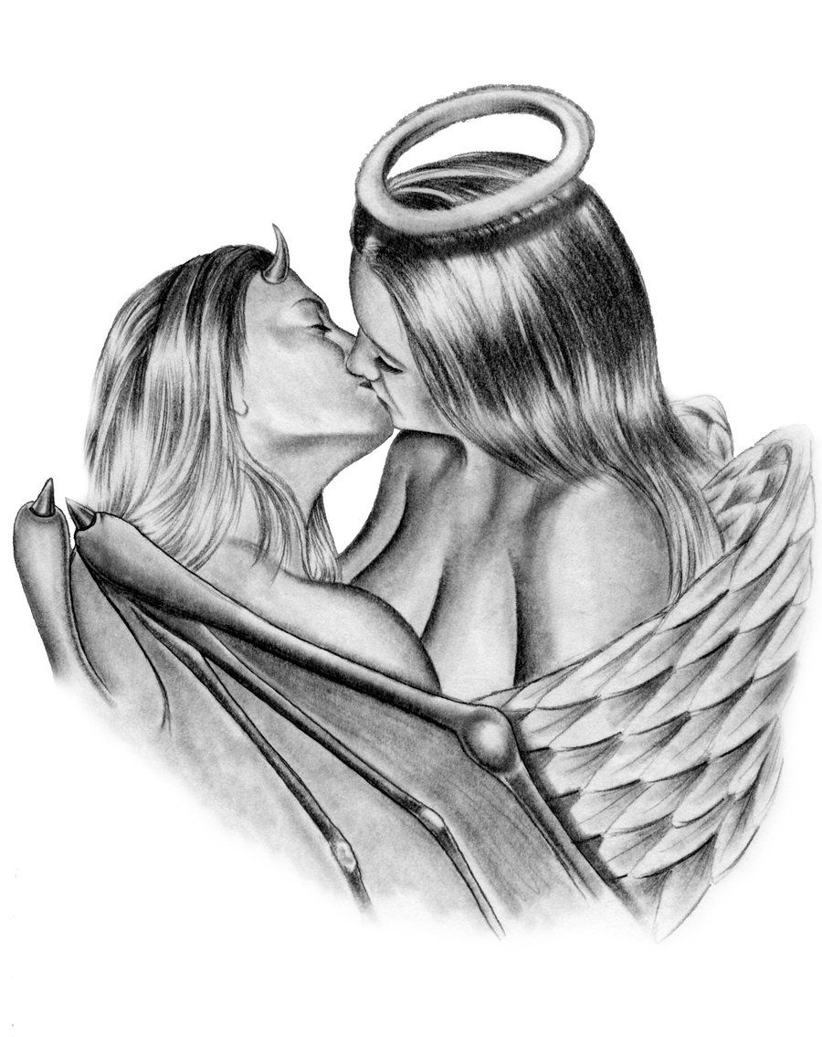Angels fuck and devils kiss