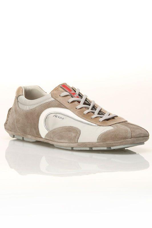 Prada Men s Calzature Uomo Sneakers In Ice And Stone  9ea4e65b38a