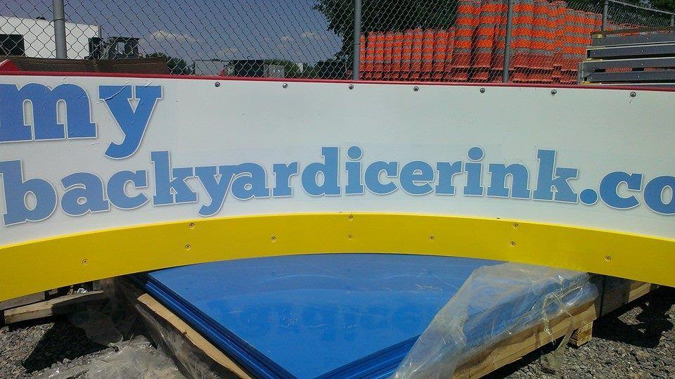Aluminum U0026 Plastic Outdoor U0026 Indoor Hockey Rink Boards!