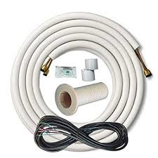 Cooper Hunter Insulated Copper And Wire Line Set Air Conditioner Cable Split Up To 25 In 2020 Window Air Conditioner Electrostatic Air Filter Rv Air Conditioner