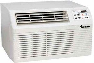 Amana 9 200 Btu Through The Wall Air Conditioner With 3 5 Kw Heat Model Pbe093g35cb Electronic To Wall Air Conditioner Window Air Conditioner Air Conditioner