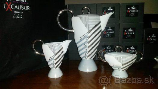 Exkluzivna porcelanova kavova suprava Excalibur - Bratislava, predám