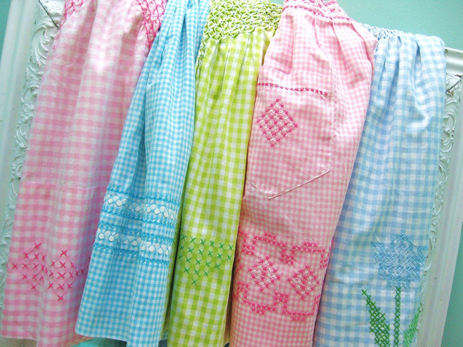 Baby Girls Little Lady Pink Gingham Frill Dungaree Set with Hat ☆
