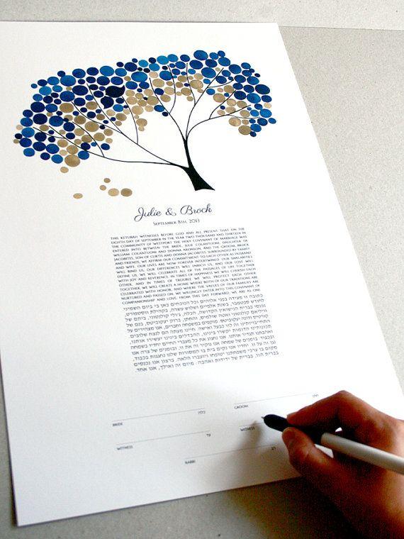 Modern Ketubah Safari Tree Of Life Minimalist Painting Abstract