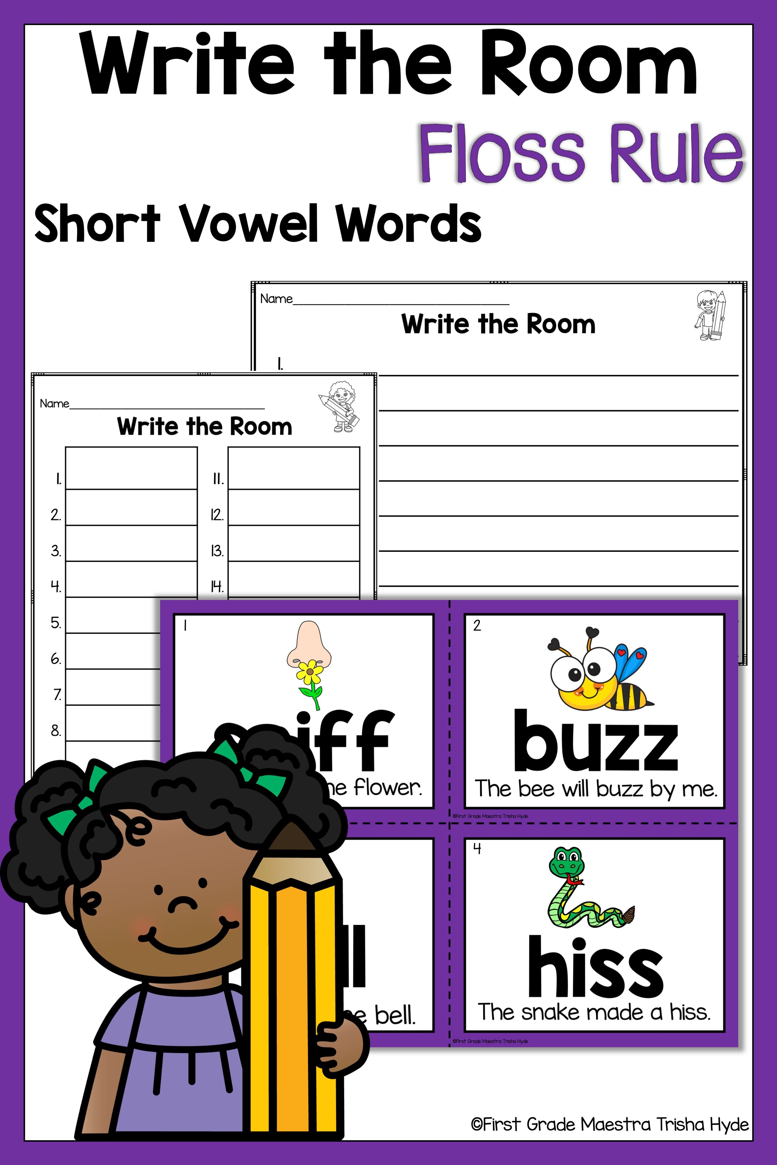 Write The Room Floss Rule