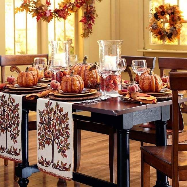 55 Lovely Thanksgiving Unique Table Décor Ideas That Would Leave