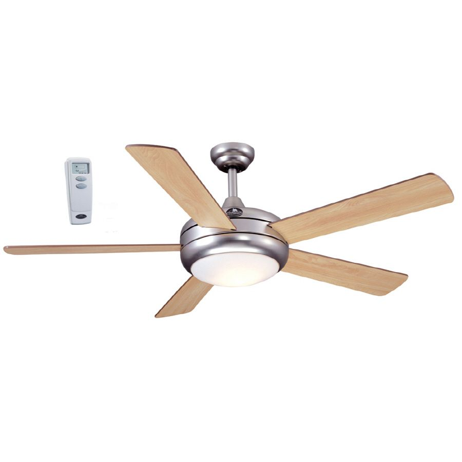 Harbor Breeze 52 In Aero Ceiling Fan With Light Kit And Remote At