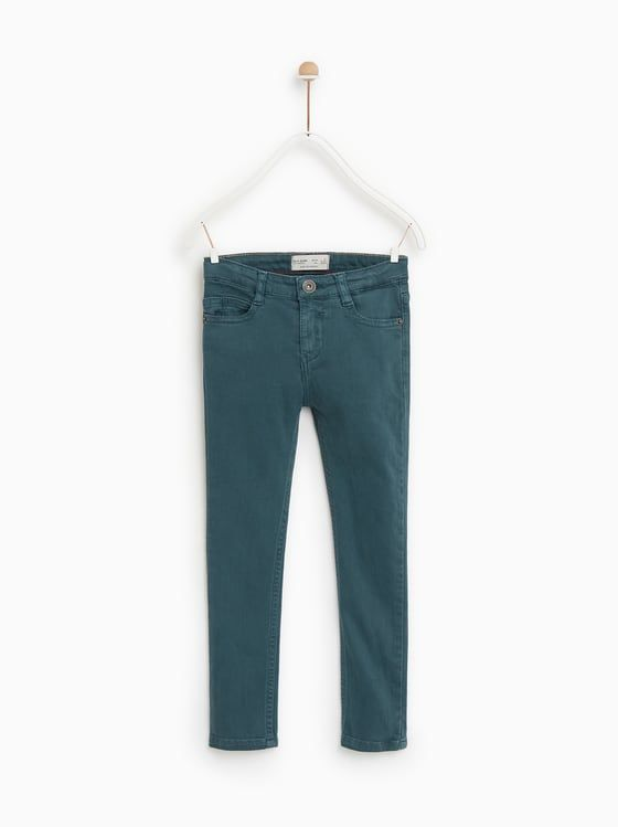 a5009be7 SERGED SKINNY JEANS - Item available in more colors Kids Boys, Natural  Colors, Zara