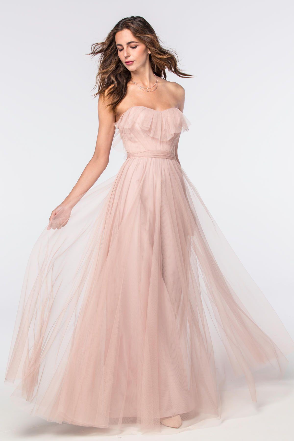 Angelie 2304 | Bridesmaids | Watters | Bridesmaid Dresses | Pinterest
