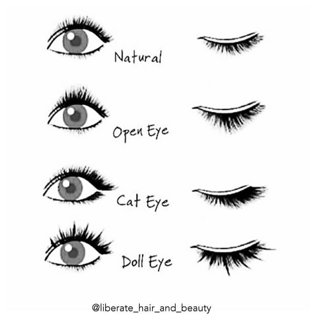 2f8e59a22ba For our lash dolls which lash style is your favourite and did you know you  could have different looks? #eyelashextensions #EyelashExtensionsHowToApply