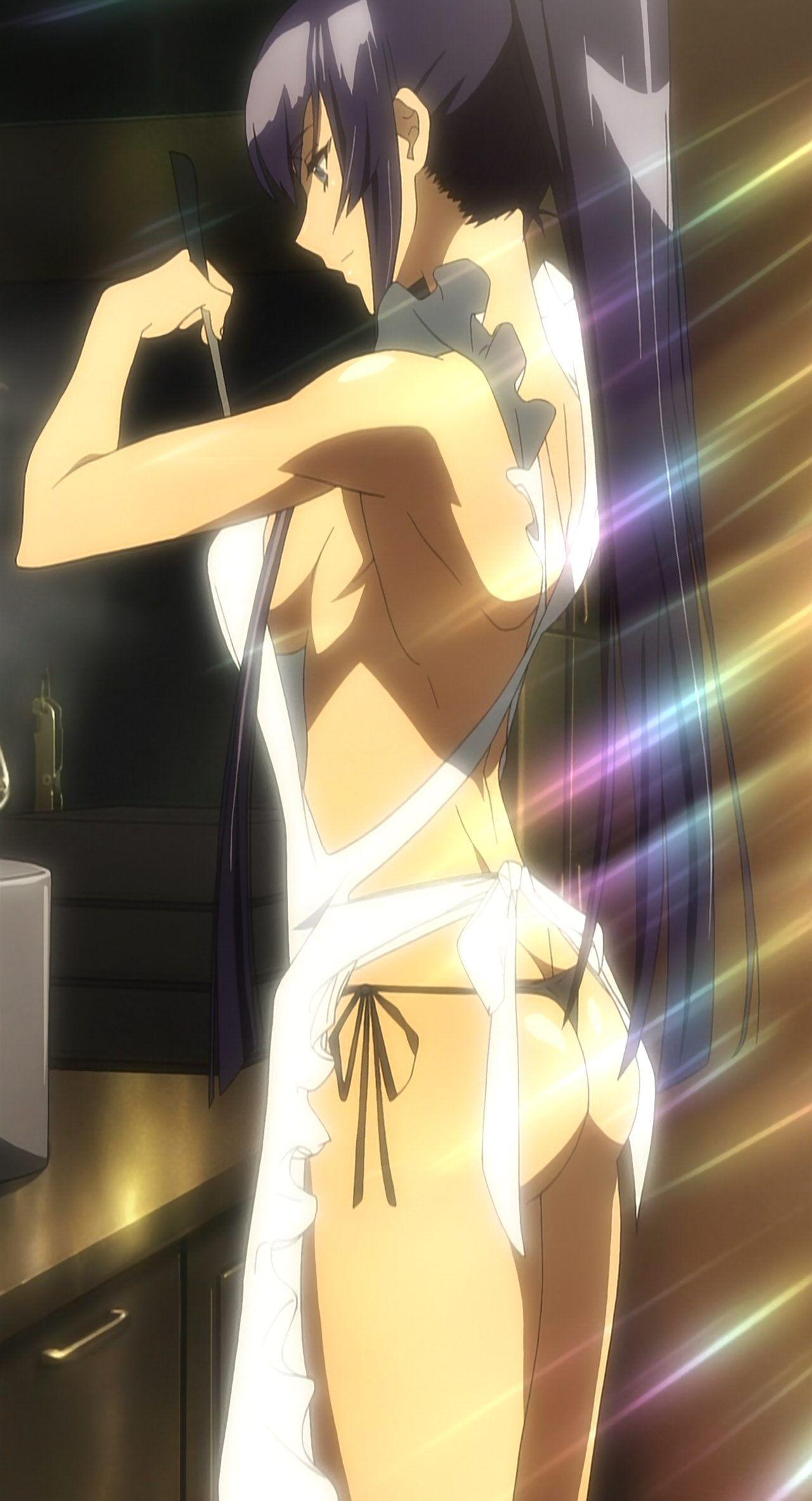 Saeko busujima apron
