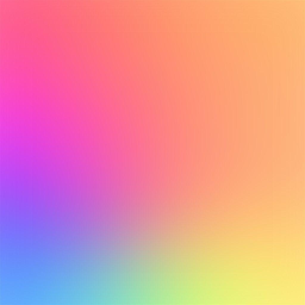 Rainbow Color Soft Gradation Blur iPad Air Wallpapers