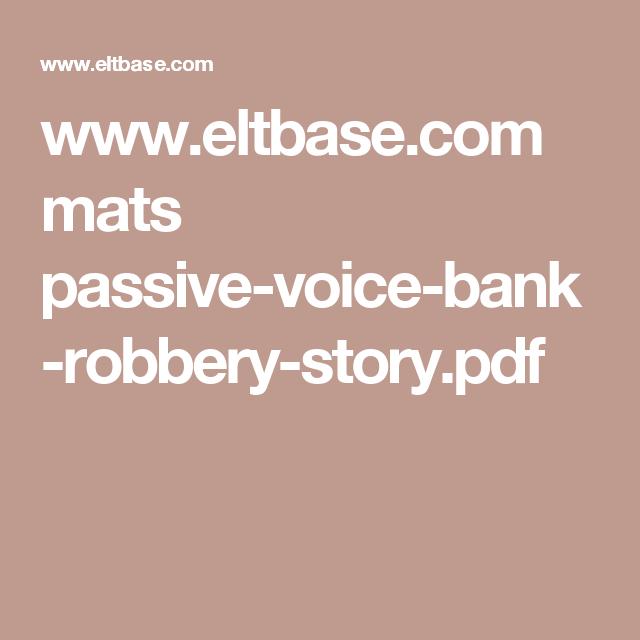 impersonal passive voice exercises pdf
