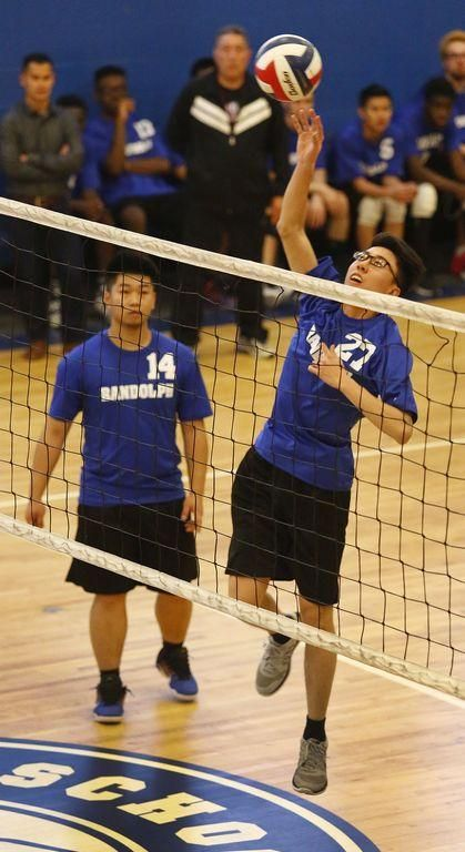 H S Volleyball Randolph Boys Riding Momentum Volleyball Volleyball Team Sports