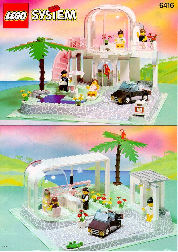 Lego Poolside Paradise 6416 Y O U N G E R D A Y S Lego