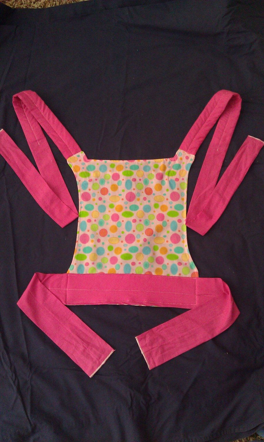 Items similar to Child sized Mei Tai baby doll carrier on Etsy #babydoll