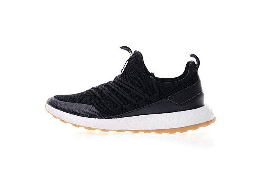 f13725adc Adidas Pure Boost Black White Gum Ba8802 Official Sneaker Popular Sneakers