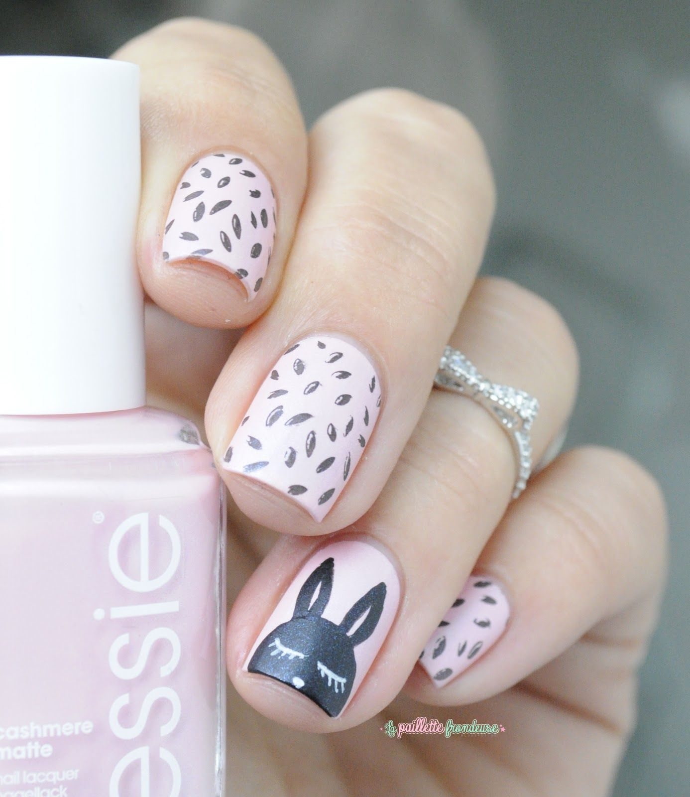 25 Bunny Nail Designs For Spring Mani