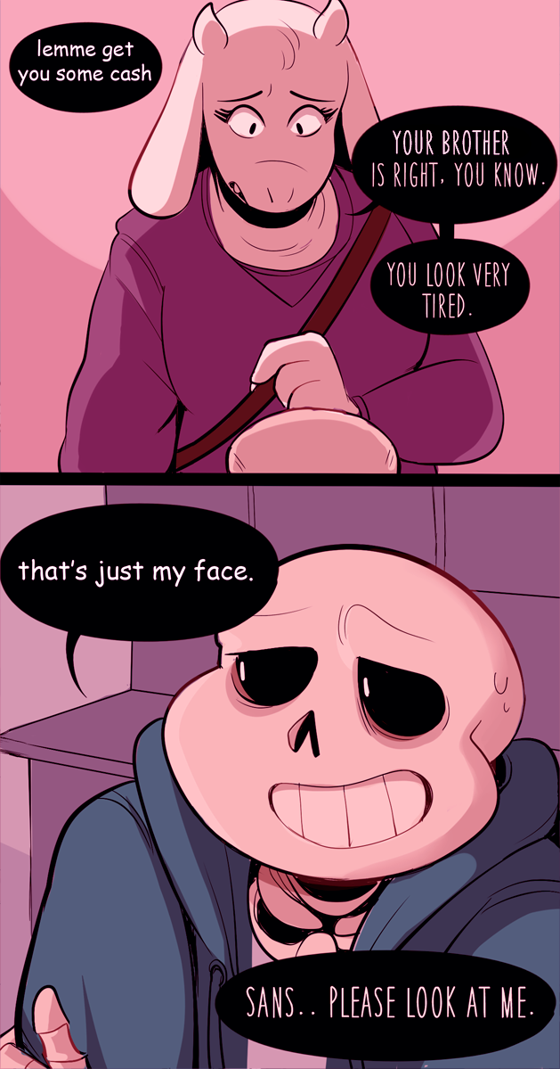 Under the read more: post pacifist end spoilers, papyrus being a ...