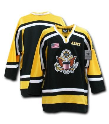 Army Hockey Jersey Hero Provisions Off Duty Apparel Gear Gifts For Police Fire Ems Military Private Security Army Hockey Hockey Jersey Men S Hockey
